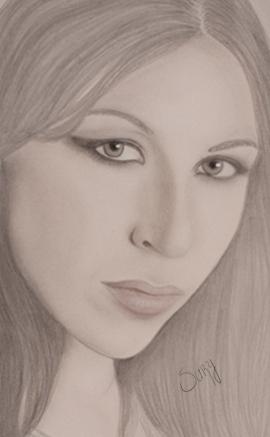 Alessia Forganni par Sury